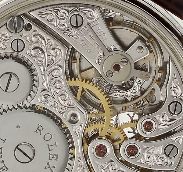 ◆ROLEX◆ 王者ロレックス 豪華彫金 1930's フルスケルトン 手巻き アンティーク スイス超高級腕時計 メンズ 腕時計 OH済 ビンテージ_画像8