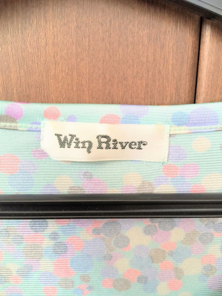 Win River カットソー  七分袖