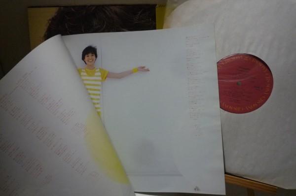 LP盤 松田聖子 / パイナップル (Pineapple) 国内盤・帯付・美盤_画像3