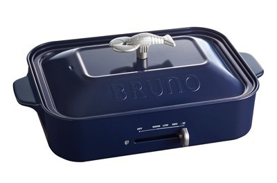 (限定モデル) ブルーノ フットプレート セラミック鍋 セット