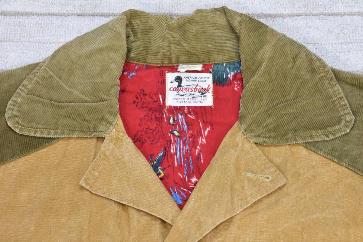 50s ハンティング ジャケット USA製 ビンテージ /5927 501 101 200 505 511 606_画像4