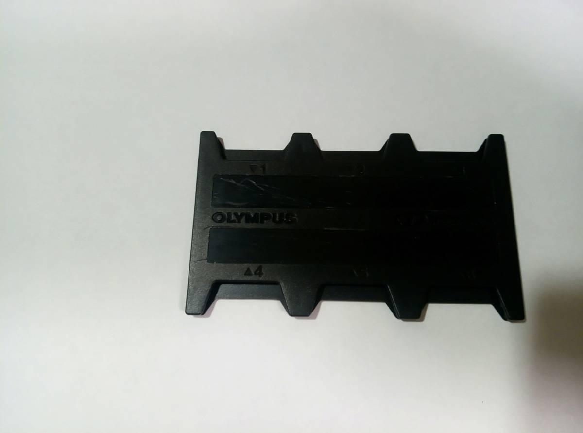 free shipping *XD card original case black black Olympus original xD Picture card-case OLYMPUS original 6 pcs storage * prompt decision * X ti-