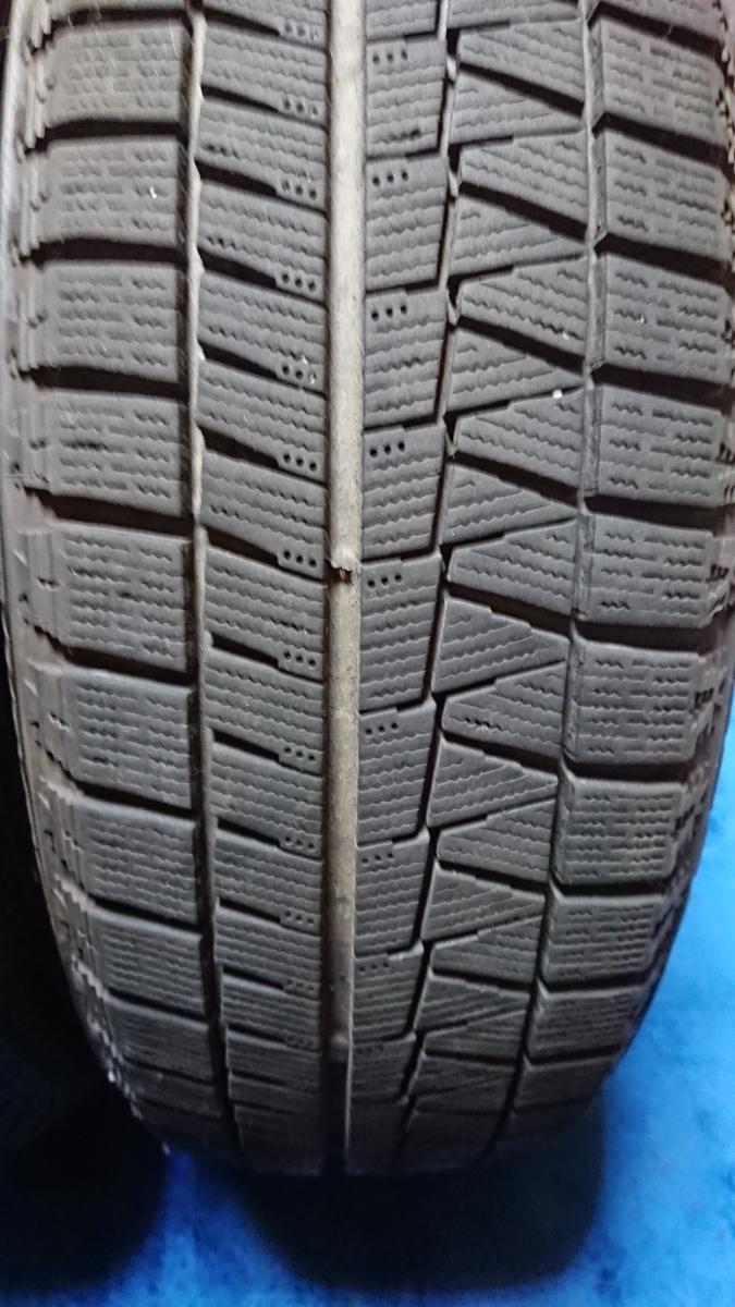 175/65R15 4本 BRIDGESTONE ブリヂストン スタッドレス BLIZZAK ブリザック 残溝約7.0㎜ バリ 製造2014.44週 屋内保管 発送はヤマト便80㎏_画像2