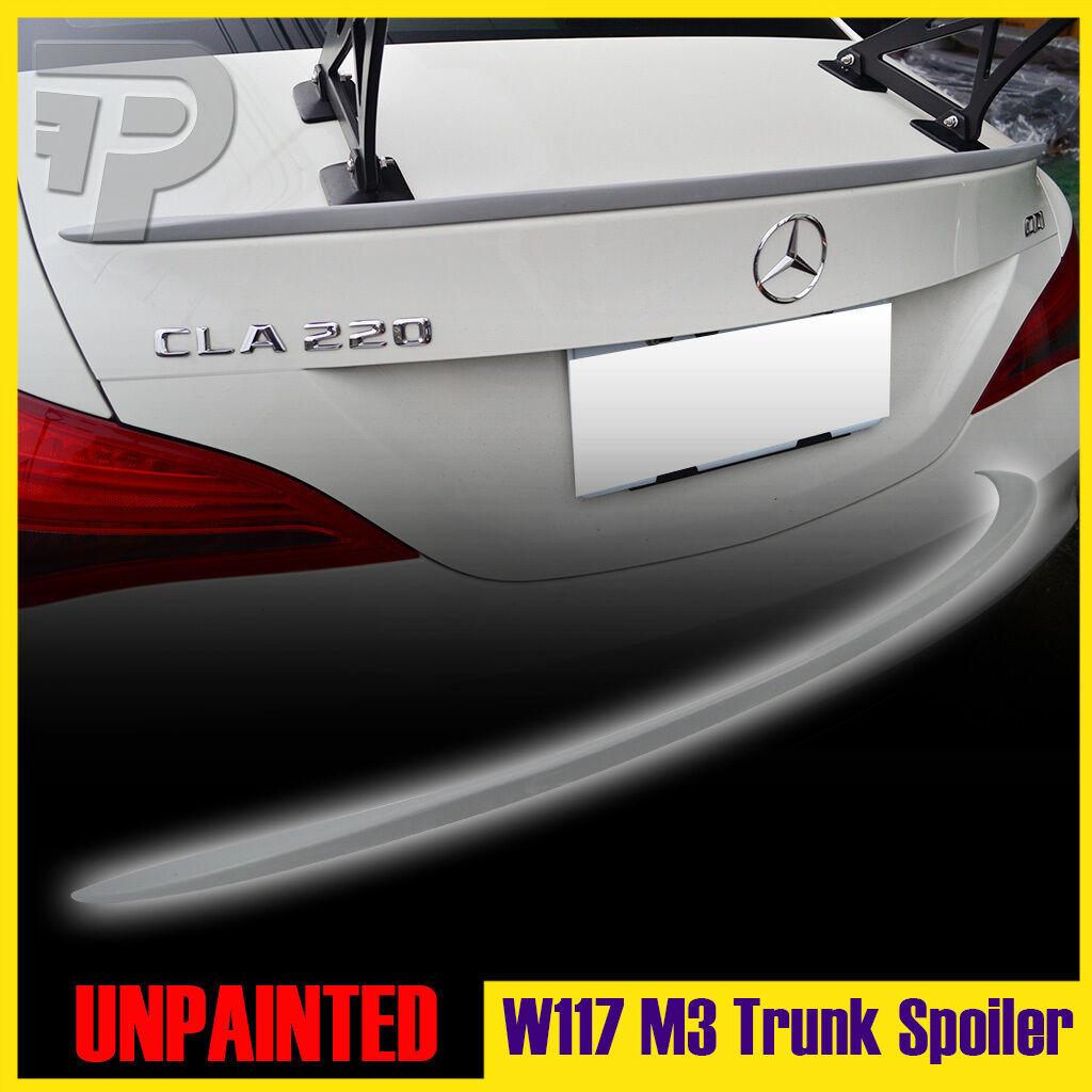 14-19 ベンツ CLA W117 C117 塗装品 トランクスポイラーM3 各色対応_画像1