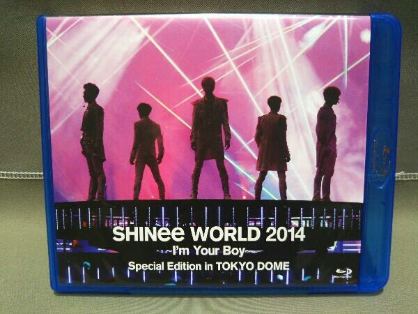 K-POP Blu-ray SHINee WORLD 2014~I'm Your Boy~Special Edition in TOKYO DOME(Blu-ray Disc)_画像1