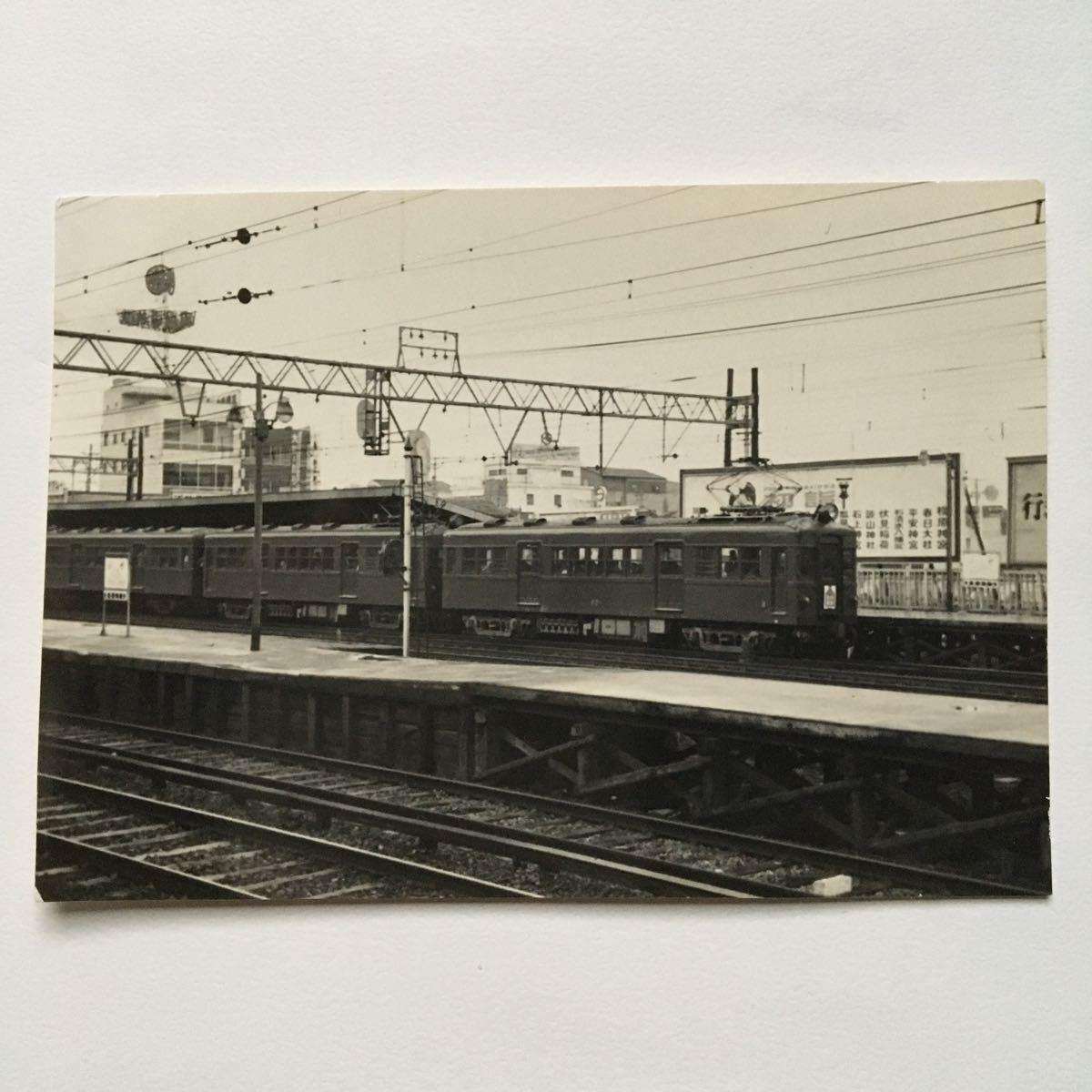 【鉄道写真】近鉄奈良線651形/1959年1月◆?#38469;?#39365;/生駒行普通