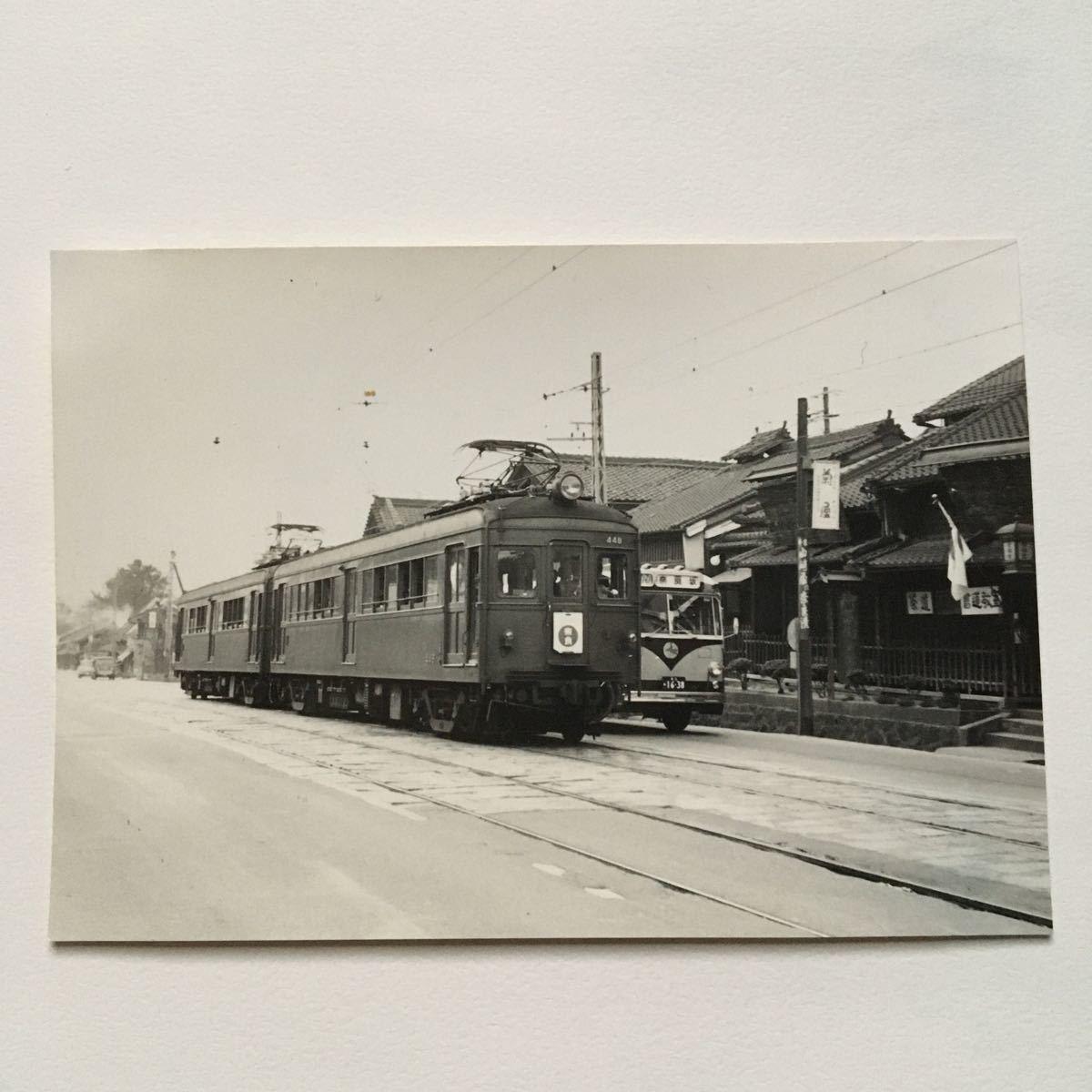 【鉄道写真】近鉄奈良線448形/1965年9月◆近鉄奈良付近