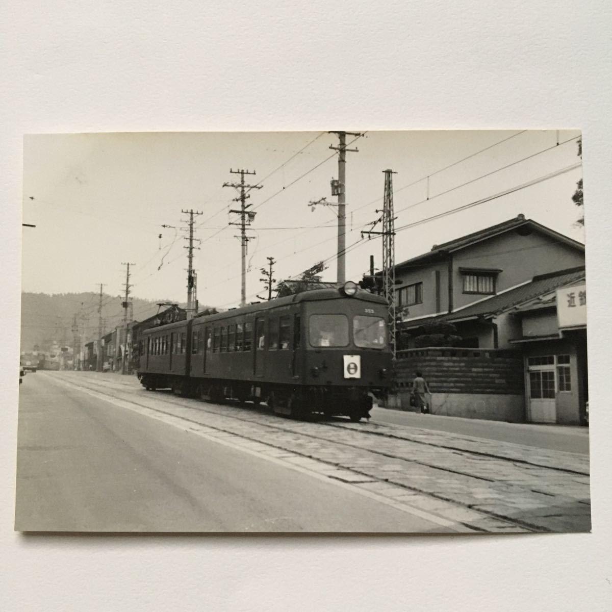 【鉄道写真】近鉄奈良線355形/1965年9月◆油阪付近/京?#22841;?#26222;通