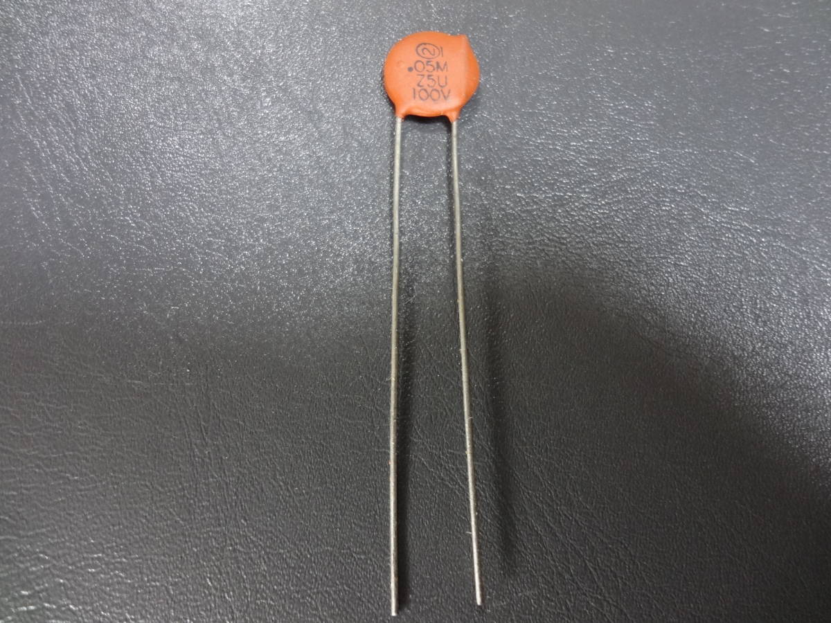 SPRAGUE 0.05μF 100V Vintage セラミックコンデンサー 未使用品