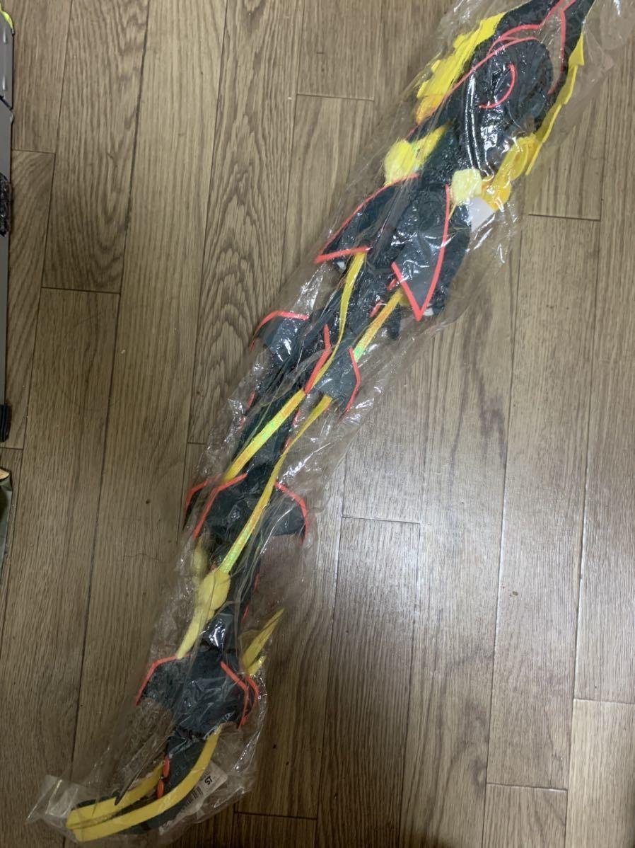 新品 ポケモンセンター ぬいぐるみ 2015 黒いメガレックウザ 紙タグ付き 袋未開封