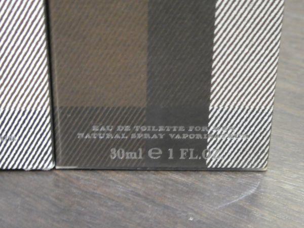 バーバリー ロンドン フォーメン EDT 2本セット(50ml+30ml) BURBERRY LONDON FOR MEN 香水 トワレ メンズ 未開封 中古