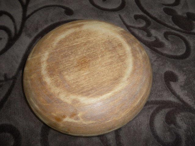 @@天然木 菓子鉢  アンティーク コレクション  工芸品  古民具 木工 古道具 良く使い込まれた菓子鉢 木の器 _画像4