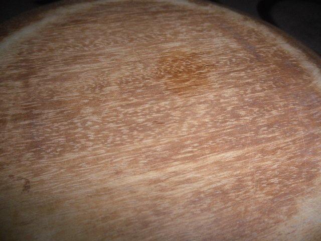 @@天然木 菓子鉢  アンティーク コレクション  工芸品  古民具 木工 古道具 良く使い込まれた菓子鉢 木の器 _画像7