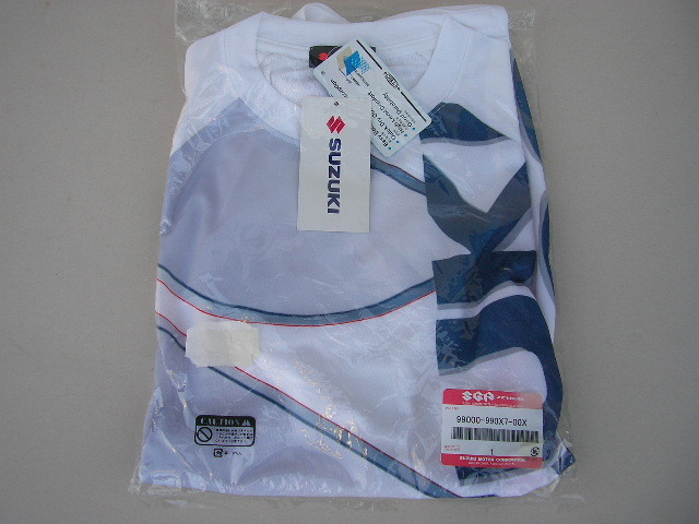 17☆未使用 SUZUKI スズキ Tシャツ LLサイズ