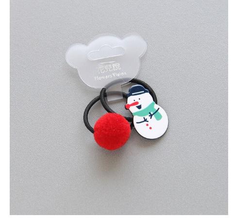 S2456 2 個新クリスマスヘラジカプリンセス帽子子供弾性ヘアバンドベビードレス子供ヘアロープの女の子ヘアアクセサリー_画像7