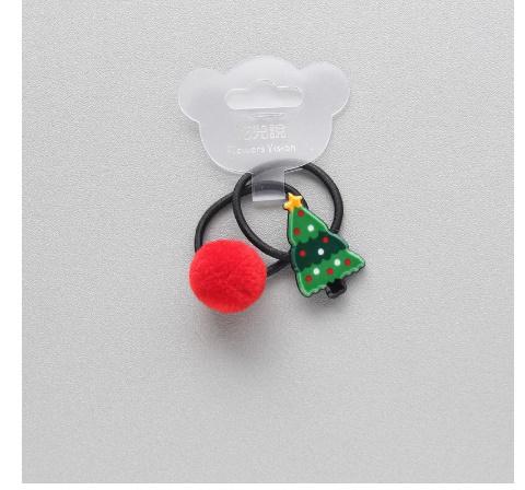 S2456 2 個新クリスマスヘラジカプリンセス帽子子供弾性ヘアバンドベビードレス子供ヘアロープの女の子ヘアアクセサリー_画像4