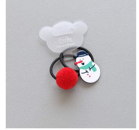 S2456 2 個新クリスマスヘラジカプリンセス帽子子供弾性ヘアバンドベビードレス子供ヘアロープの女の子ヘアアクセサリー_画像2