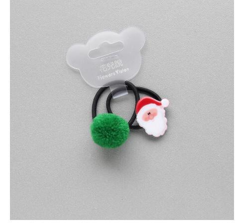 S2456 2 個新クリスマスヘラジカプリンセス帽子子供弾性ヘアバンドベビードレス子供ヘアロープの女の子ヘアアクセサリー_画像3