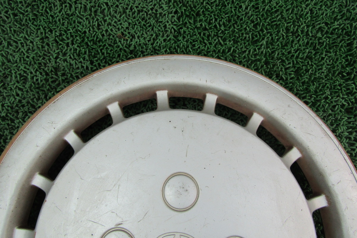 トヨタ 純正 ホイールキャップ センターカバー ホイールカバー 13インチ 1枚 シビック EG4 EG5 コルサ カローラ カリーナ デュエット_画像4