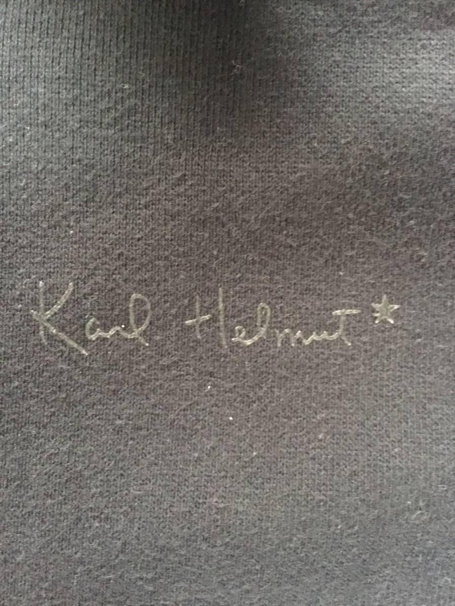 [KARL HELMUT] PINK HOUSEバックデザイン スエットジップアップジャケット M カールヘルム_画像5