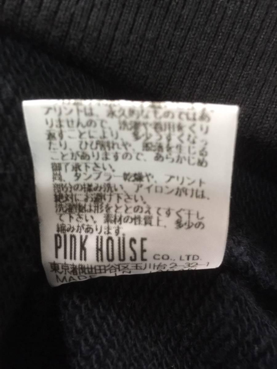 [KARL HELMUT] PINK HOUSEバックデザイン スエットジップアップジャケット M カールヘルム_画像7