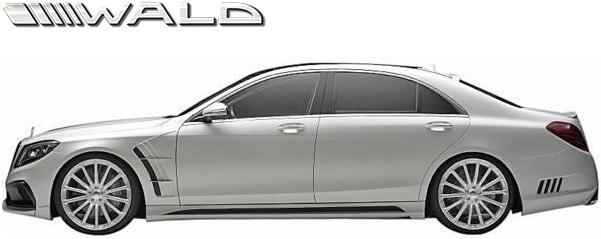 【M's】W222 Sクラス 前期/後期 (2013y-) WALD BLACK BISON トランクスポイラー//FRP ヴァルド バルド ベンツ エアロ ウイング_※前期車輌