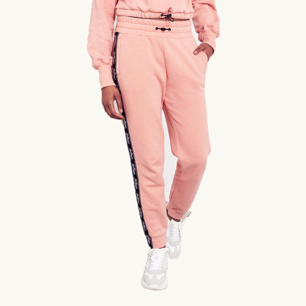 ★SALE★Hollister/ホリスター★ロゴテープスウェットジョガーパンツ (Pink/M)_画像5