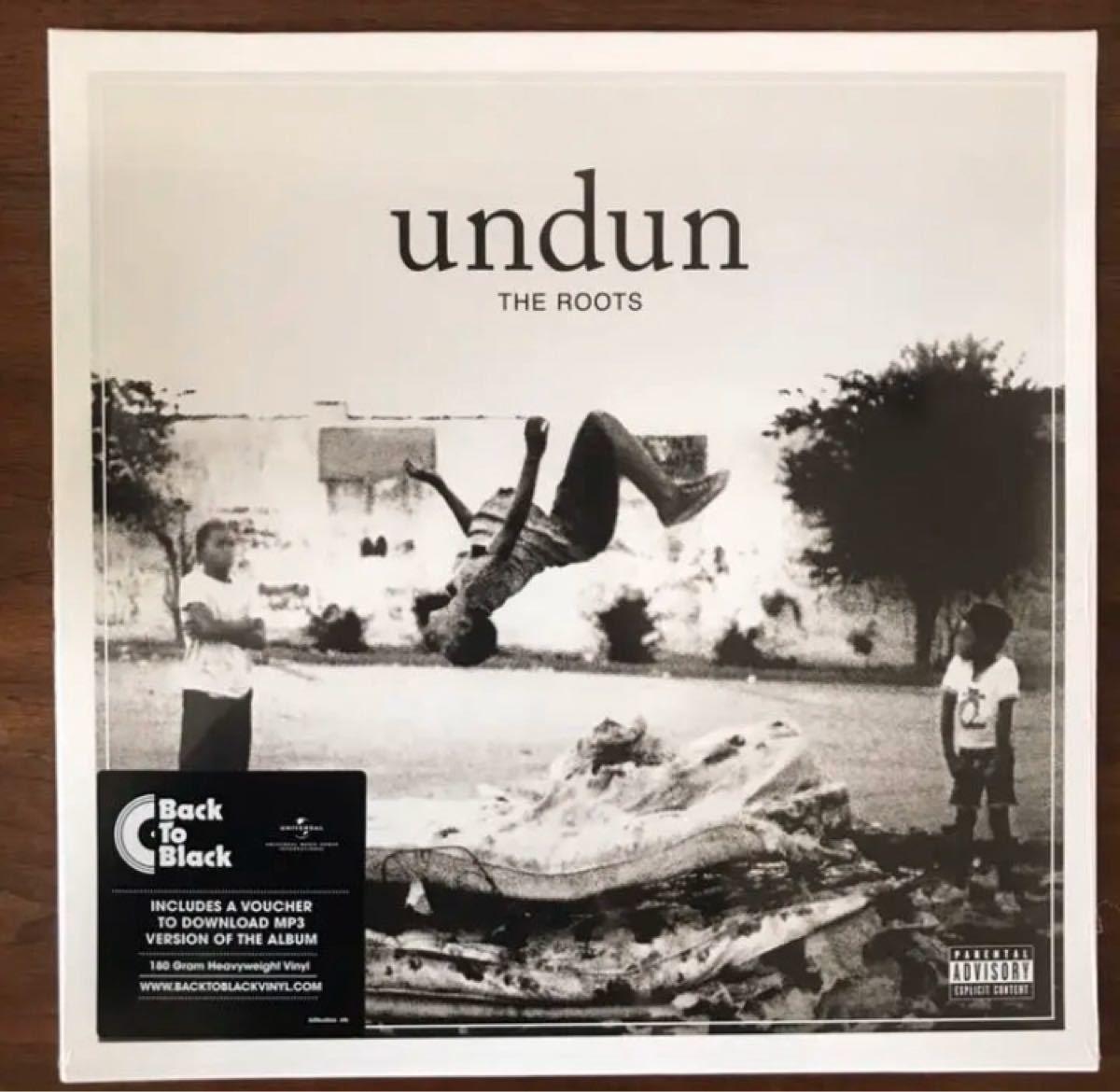 THE ROOTS / undun 新品 レコード LP HIP HOP