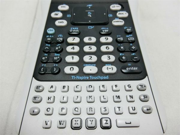 TEXAS INSTRUMENTS TI Nspire +TI-84 Plus KEYPAD付属 テキサスインスツルメンツ グラフィック計算機/BY0918-2602_画像3