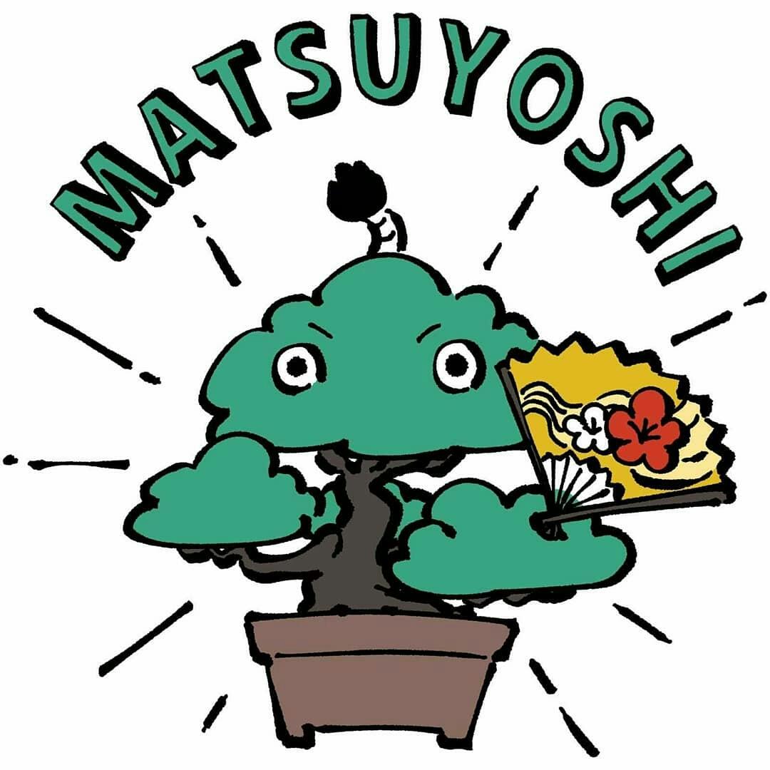 ミニ盆栽 黒松 小品盆栽「まっちゃん」缶バッジ 44mm 松慶盆栽園オリジナルキャラクターです。_画像6