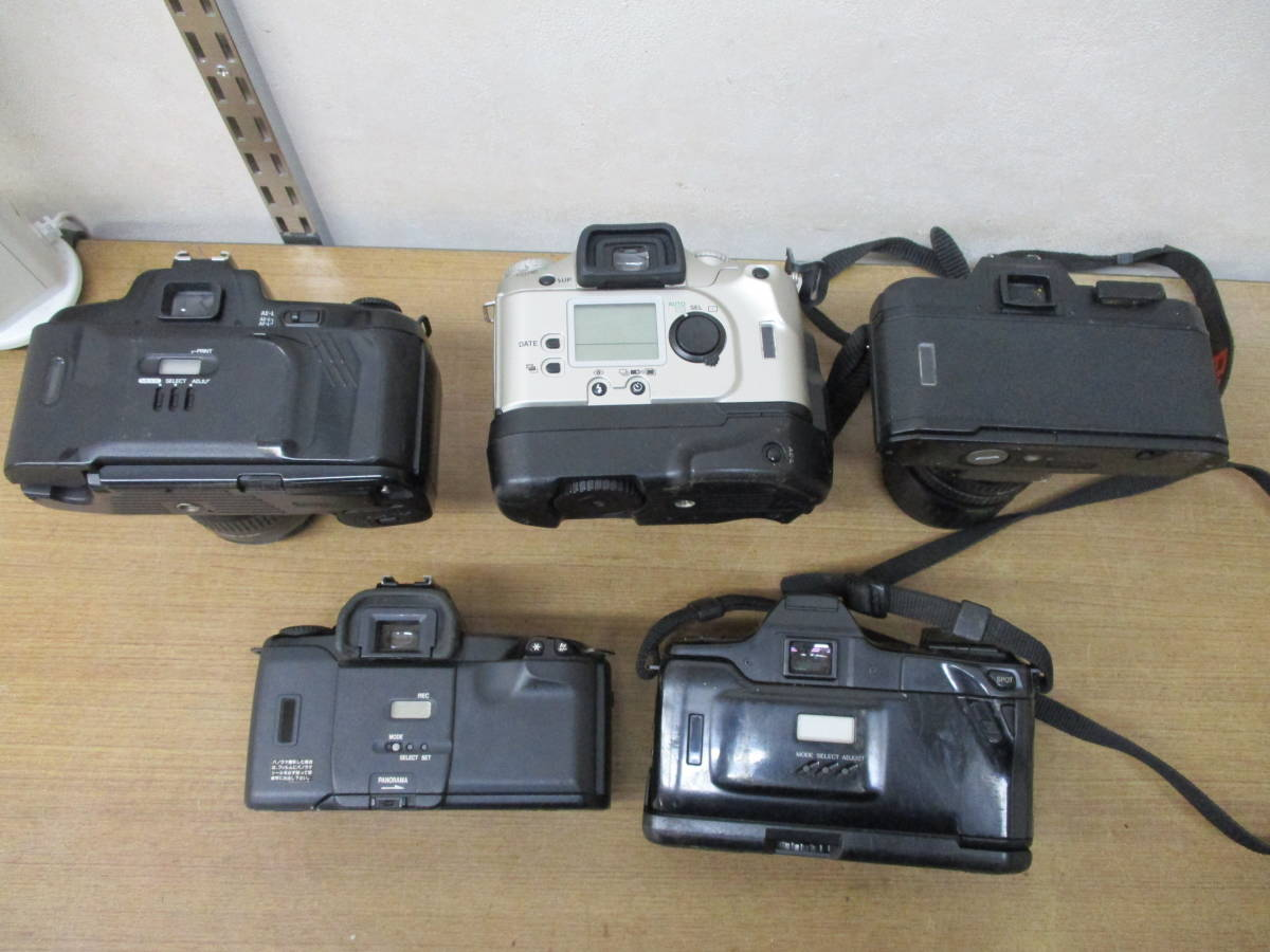 L485 現状品オートフォーカスフィルム一眼レフカメラ5台セット Canon EOSKiss MINOLTA α7700i Nikon F-601 PENTAX ist P30 11/18・28_画像7