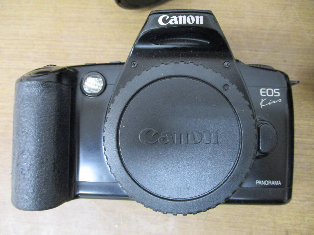 L485 現状品オートフォーカスフィルム一眼レフカメラ5台セット Canon EOSKiss MINOLTA α7700i Nikon F-601 PENTAX ist P30 11/18・28_画像3