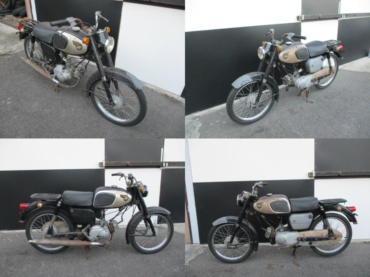 「011123 カワサキ 50-M10 レストアベース車両 現状渡し 販売証明書発行可能 4800km F KAWASAKI 旧車 当時物 希少 レア」の画像3