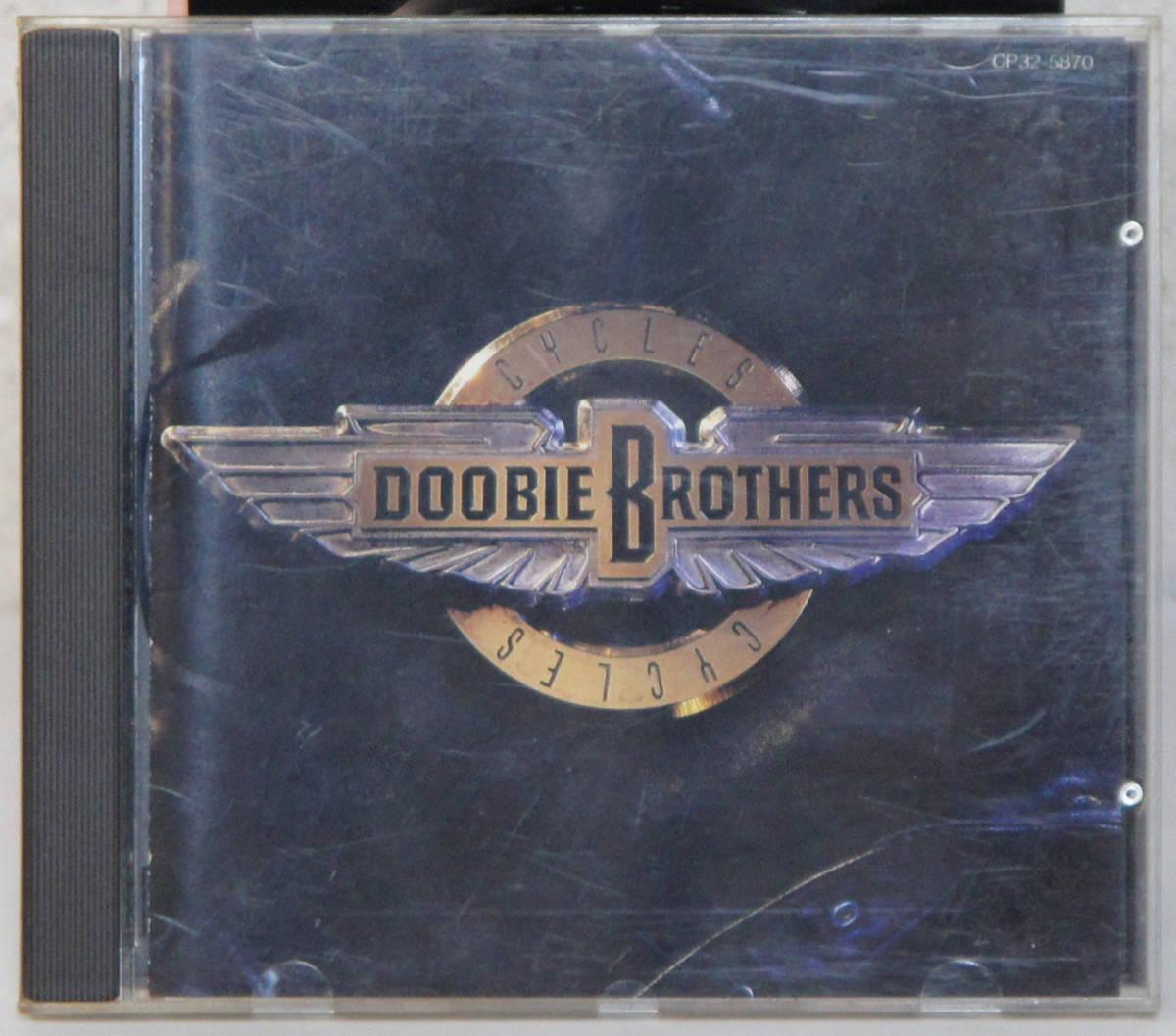 美盤CD ● THE DOOBIE BROTHERS / CYCLES ● CP32-5870 ザ・ドゥービー・ブラザーズ サイクルズ B816_画像1