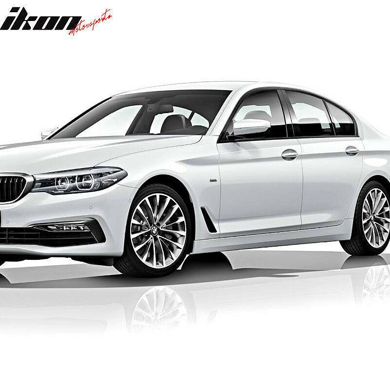 2017-18 BMW G30 5シリーズ セダン用 M5スタイル フロントバンパー、リアバンパー、ディフューザー、スポイラーリップ、サイドスカート_画像7