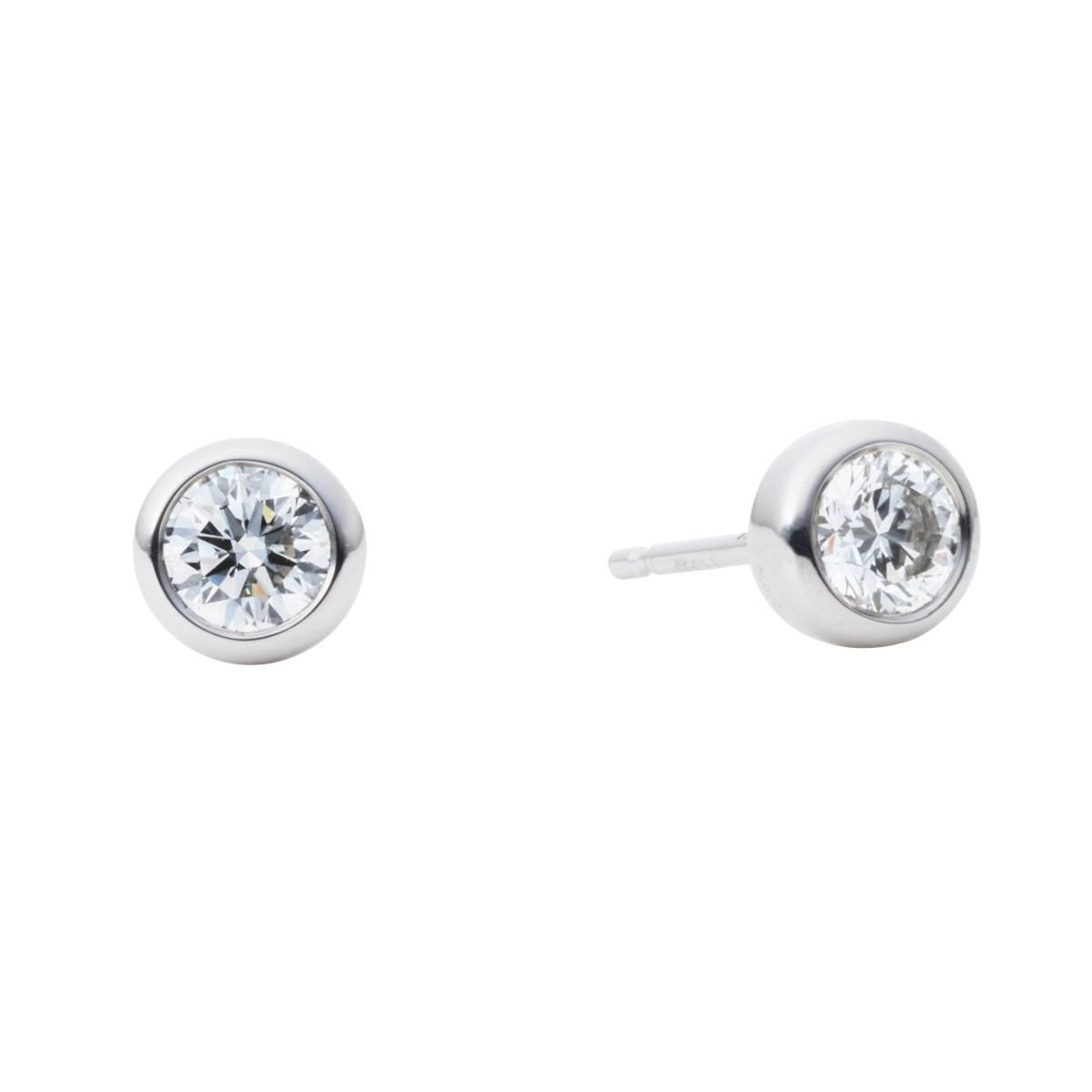 ◆【極上】プラチナ pt900 ダイヤモンド ピアス 3EX(H&C) 0.608ct 憧れの一品!diamond 2Pとも中宝鑑付き! 【珠玉】◆_VVSクラスの永遠の輝きを!