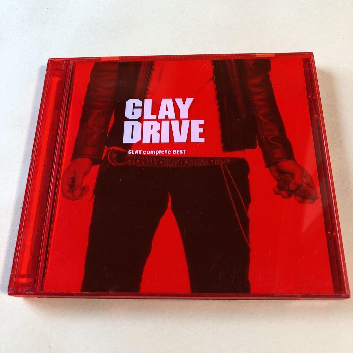 GLAY 2CD「GLAY DRIVE-GLAY complete BEST-」_画像1