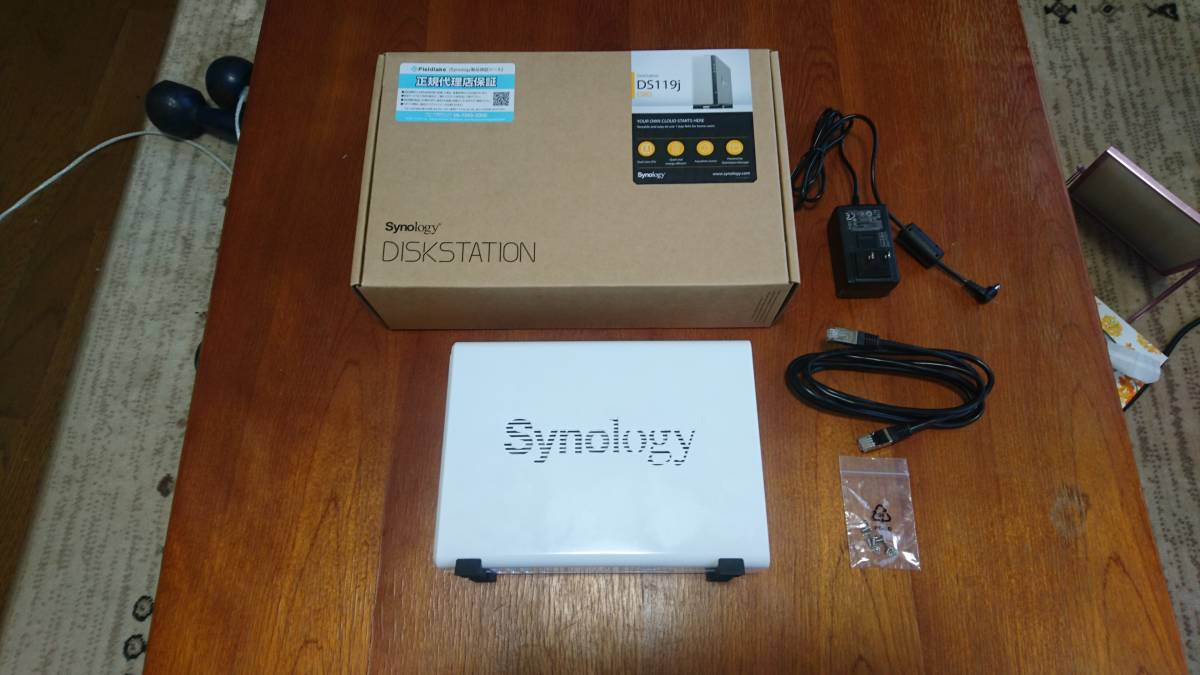 Synology DiskStation DS119j 単品(HDDなし)