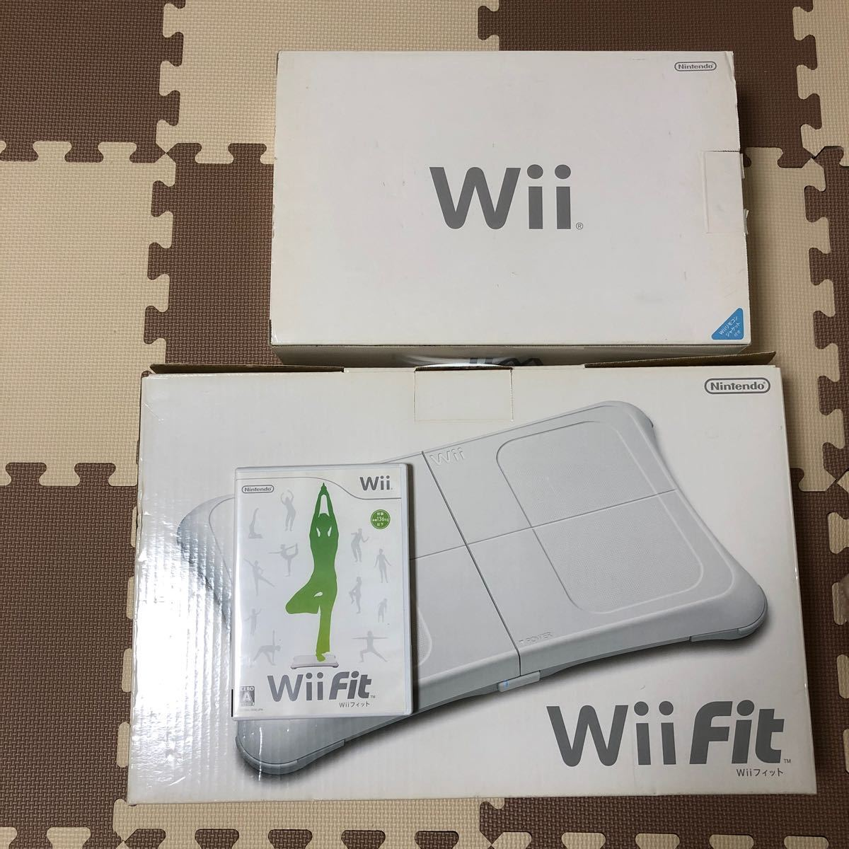 Wii Wii fitセット バランスボード Wii Fit 任天堂