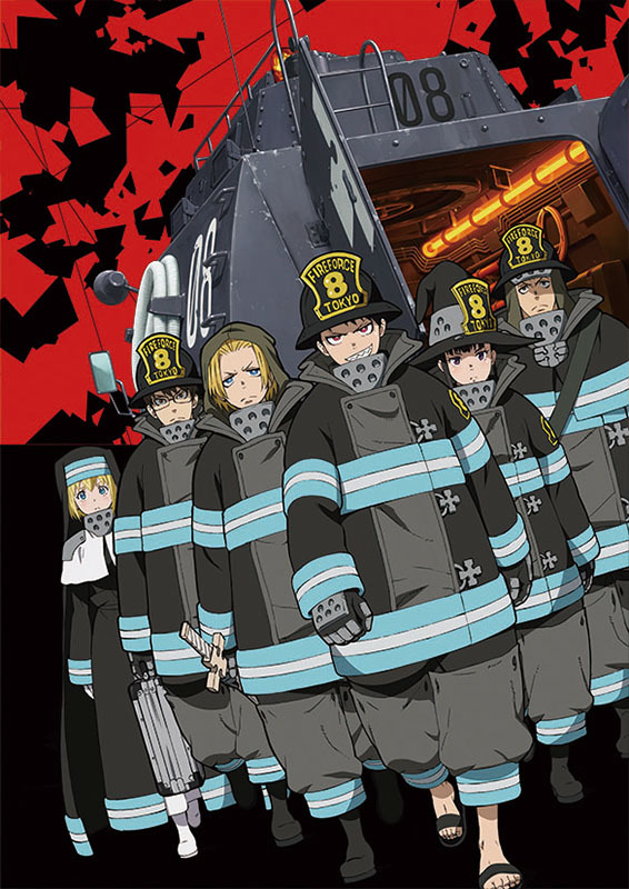 ◇◆2020年(令和2年)【炎炎ノ消防隊】CL-41(壁掛けカレンダー )即決 /新品/ _画像1