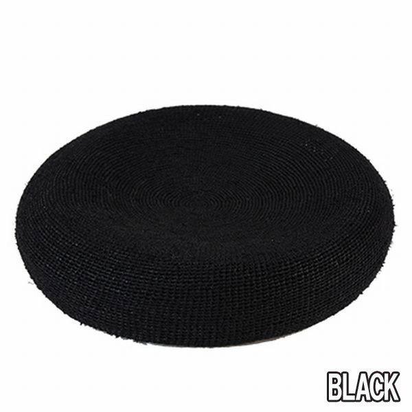 DRY BONES DCH-525 Summer Raffia Beret ドライボーンズ サマーベレー 帽子 キャップ ブラック