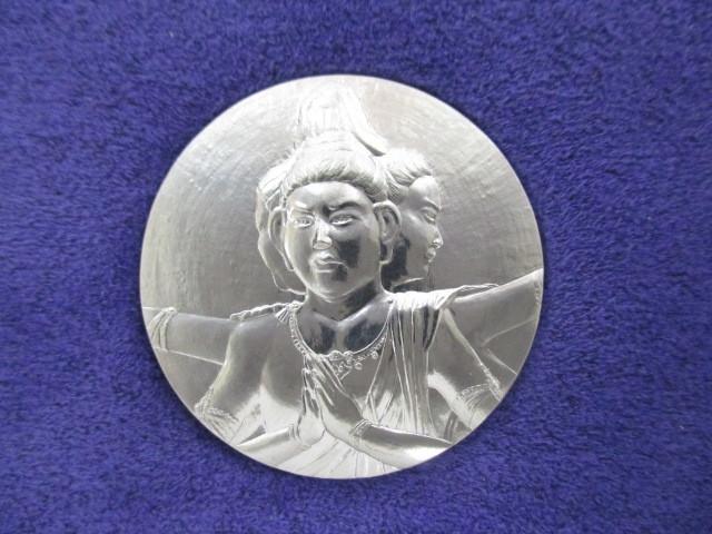 国宝章牌 『興福寺』 純白金 プラチナ 造幣局 50.2g 極美品!_画像1