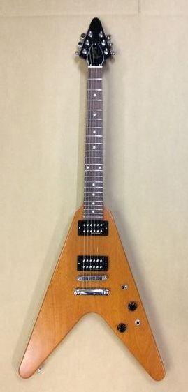 ★76 GIBSON USA Flying V Faded