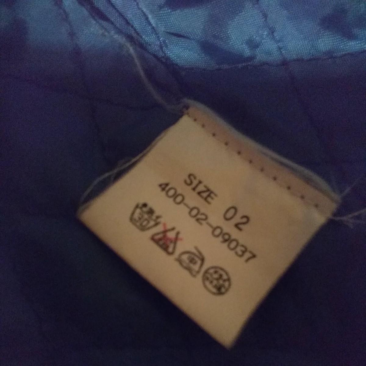 ファー付きデニムジャケット