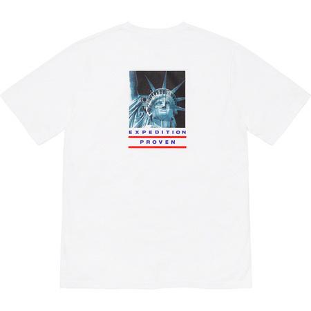 【新品 Sサイズ】Supreme The North Face Statue of Liberty Tee White シュプリーム/ノースフェイス Tシャツ 白 正規品 【送料無料】_画像1