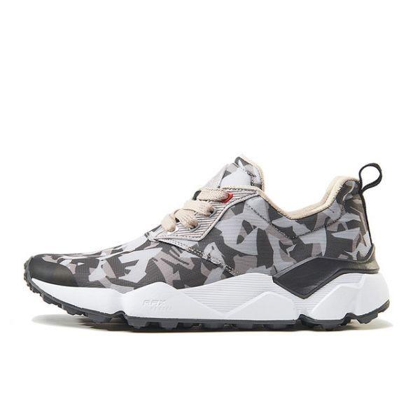 メンズランニングシューズ 通気性 メンズジョギン 軽量スニーカー 男性 運動靴 アウトドアスポーツシューズ zapatos gray camo 415 40_画像1