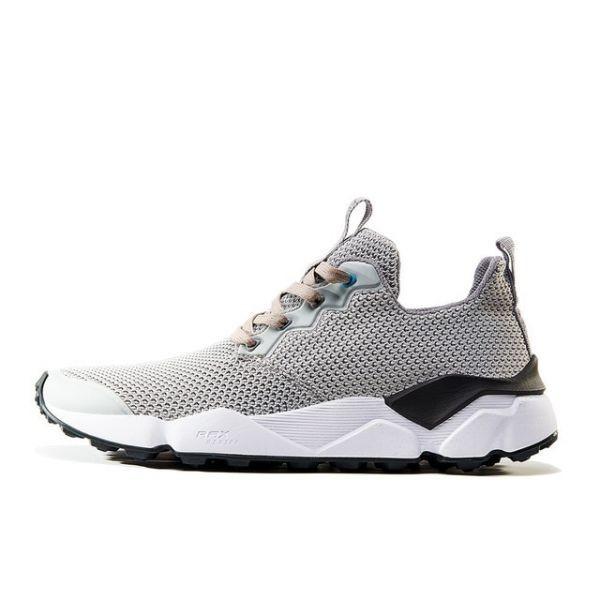 メンズランニングシューズ 通気性 メンズジョギン 軽量スニーカー 男性 運動靴 アウトドアスポーツ zapatos light grey 413 40_画像1