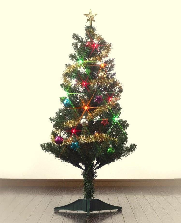 【未開封】MrMax LEDライト付きクリスマスツリーセット 90cm 飾りセット付 TJ3090-90_画像4
