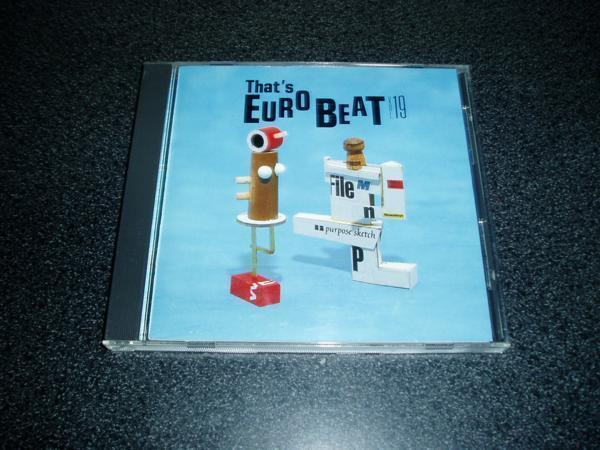CD「ザッツユーロビート/Vol.19」THAT'S EUROBEAT _画像1