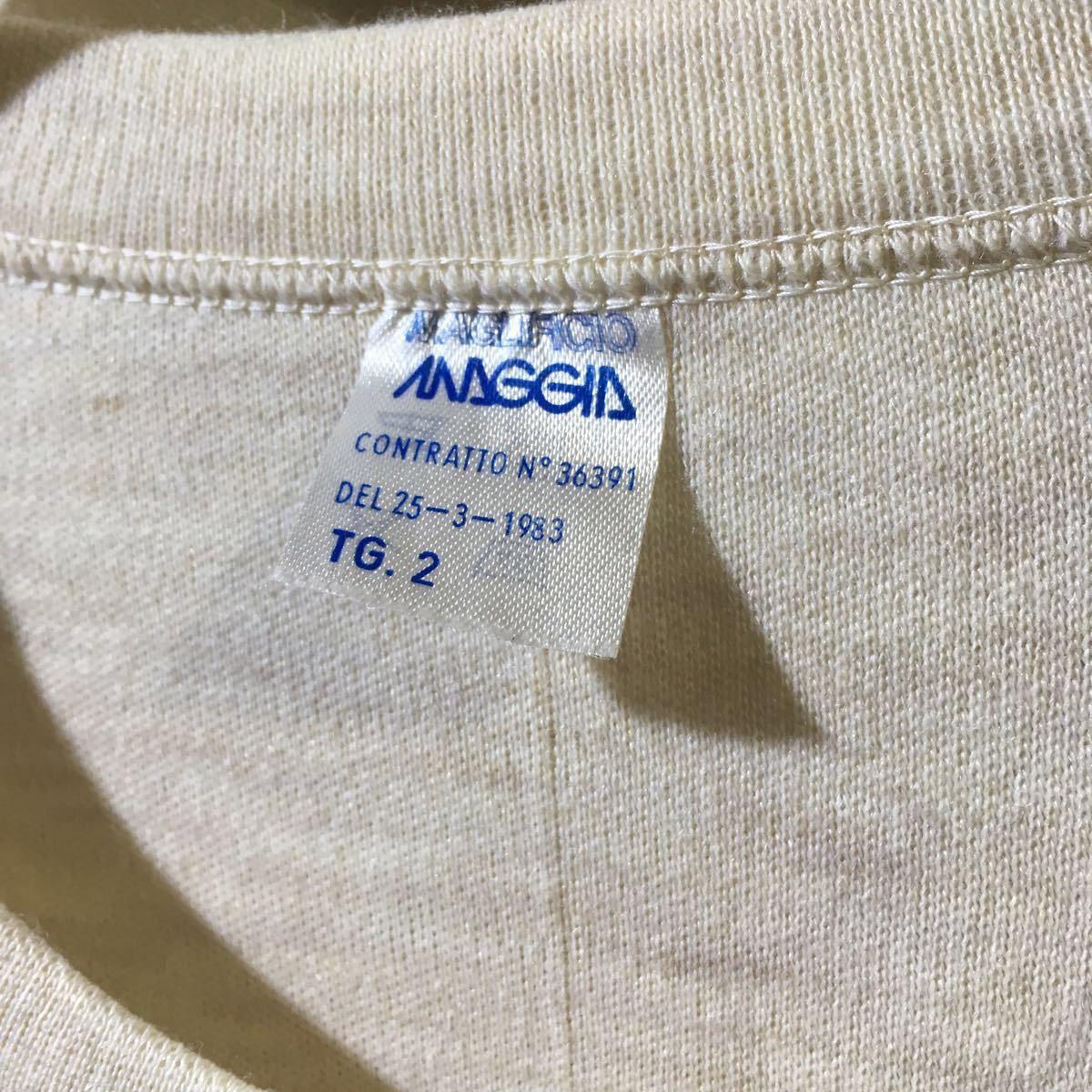 イタリア軍 1980's Dead Stock [Knit Sweater] セーター ニット ミリタリー ビンテージ フランス軍 イギリス軍 実物 ユーロ ヨーロッパ_画像4